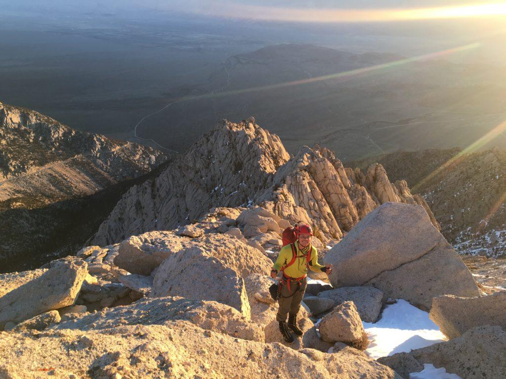 Sunrise on the North Ridge